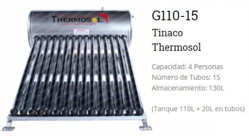 Calentador solar g110 15