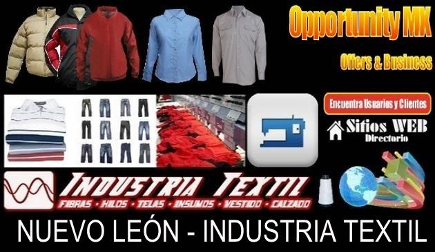 Directorio sitios web industria textil nuevo leon
