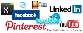 Formas de Contacto - Redes Sociales