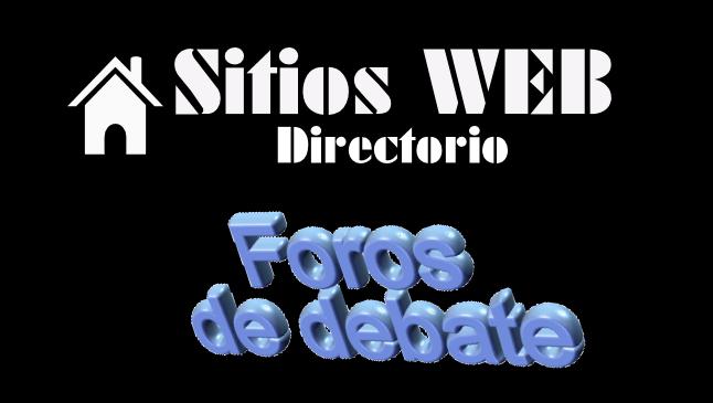 Directorio sitios web foros