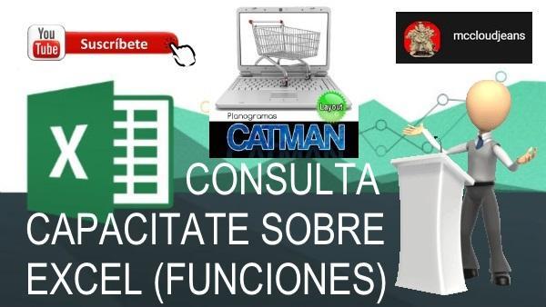 Excel recomendado catman web asesoria y capacitacion cursos en linea
