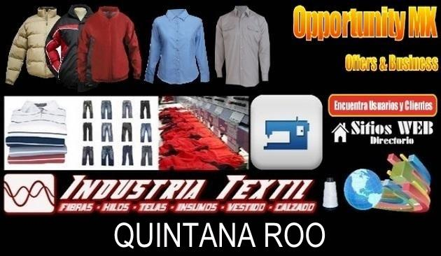 Quintana roo directorio sitiosweb industria textil